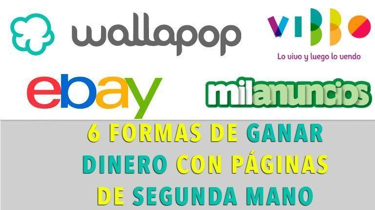 6 Formas de GANAR DINERO con páginas de SEGUNDA MANO como Wallapop o Milanuncios