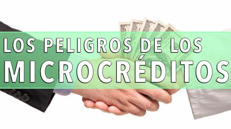 Los peligros de los microcréditos y los micropréstamos