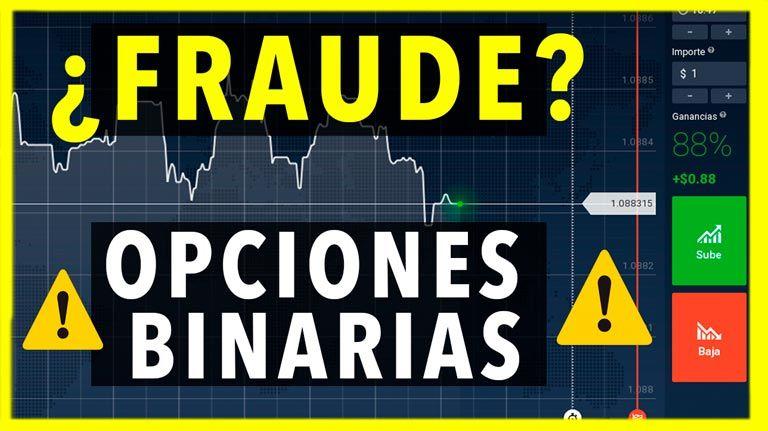 ¿Son las Opciones Binarias un Fraude? Información