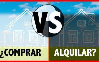 Comprar o Alquilar una vivienda. Aspectos económicos a tener en cuenta