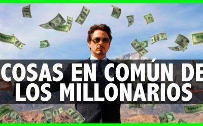 9 cosas en común que tienen los milonarios