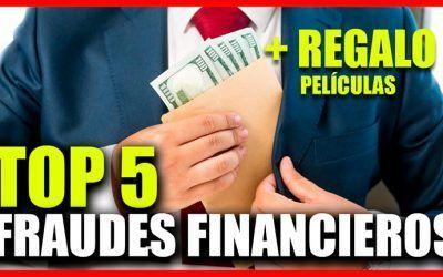 Los 5 mayores fraudes financieros de la historia