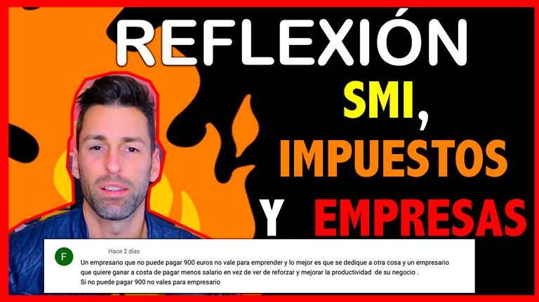 SMI, IMPUESTOS Y EMPRESAS (Reflexión)