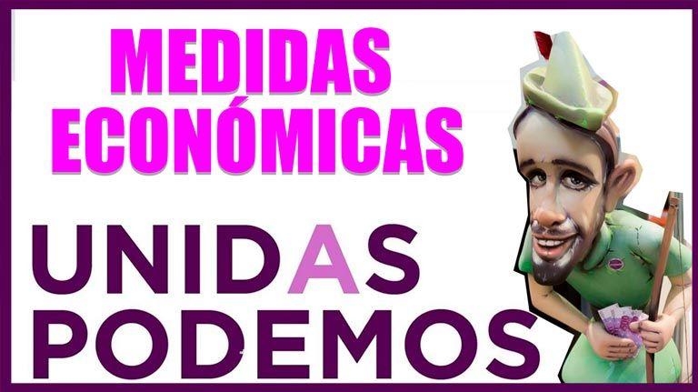 Unidas Podemos – Medidas económicas