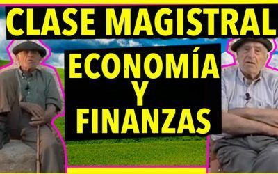 Clase magistral de Economía y Finanzas por dos ancianos de Soria