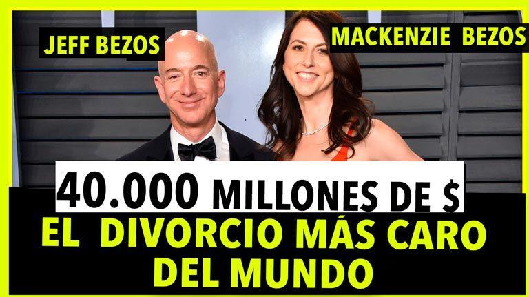 Jeff Bezos y el divorcio mas caro de la historia