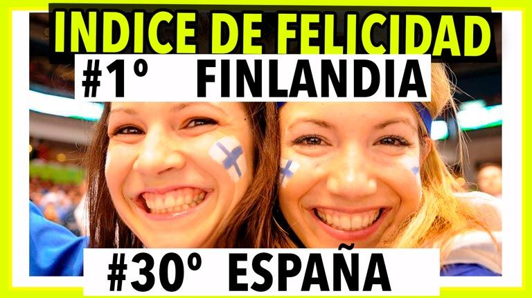 Finlandia, el PAÍS más feliz del mundo según FNB