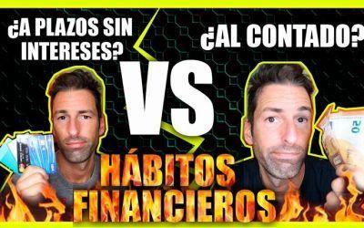Hábitos financieros: Pagar al contado o financiado