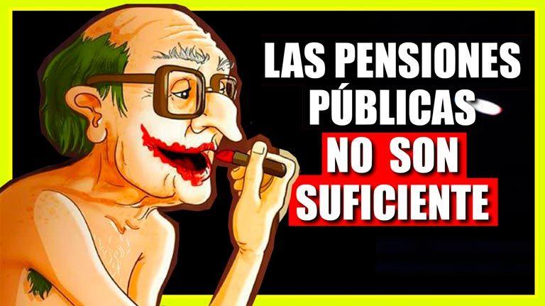 Españoles, Planes de pensiones y Pensiones públicas