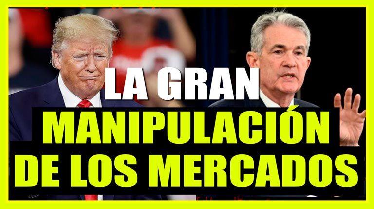 El mayor mercado alcista de la historia gracias a la manipulación: Trump, la FED y la deuda