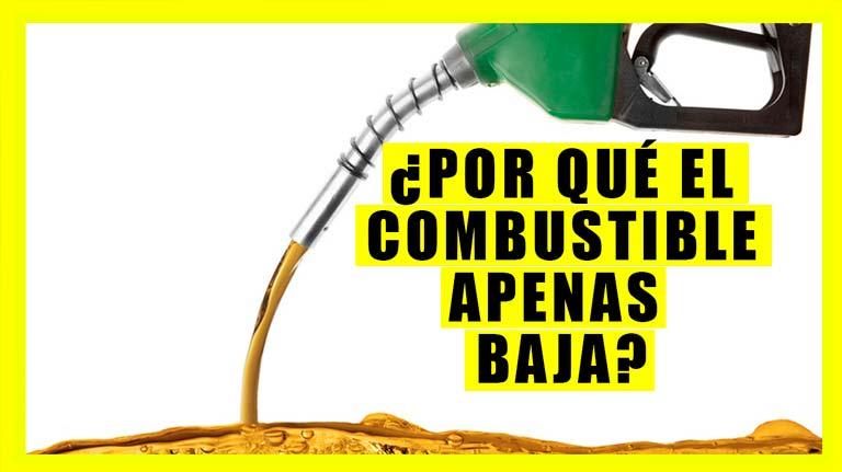 Por que no baja el precio de la gasolina si está cayendo el petroleo