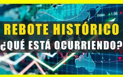 CRISIS SANITARIA 2020: Rebote histórico en las bolsas