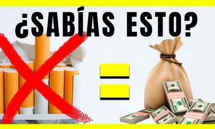 Deja de fumar y hazte rico
