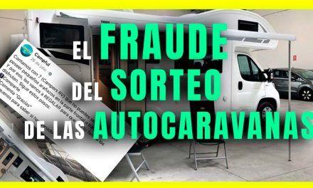 El fraude del sorteo de las autocaravanas en Facebook