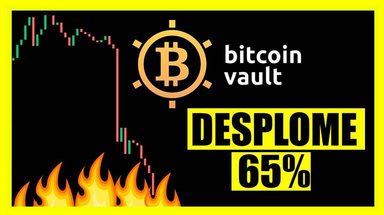 Más datos que demuestran que Bitcoin Vault y Mining City son un esquema piramidal