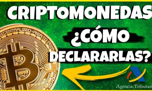 IMPUESTOS CRIPTOMONEDAS: Declaración de la RENTA 2021