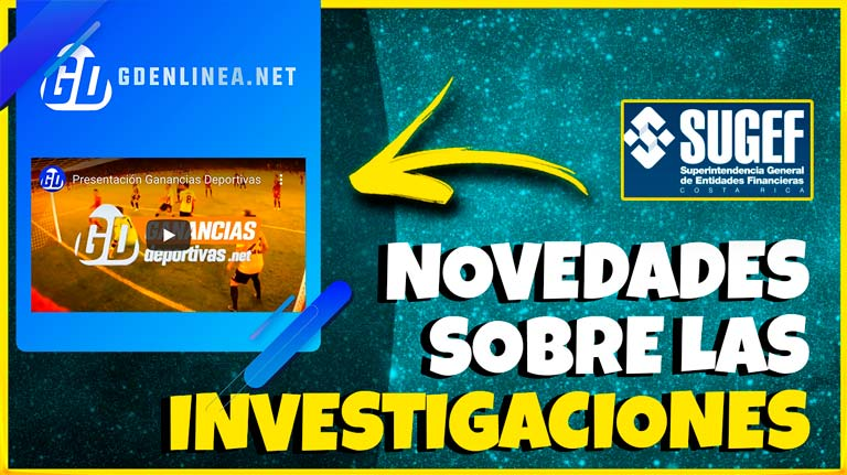 La SUGEF denunció ante la fiscalía de COSTA RICA el presunto esquema ilícito de Ganancias Deportivas